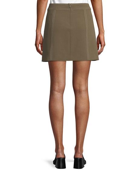 Rinko Patch-Pocket Mini Skirt