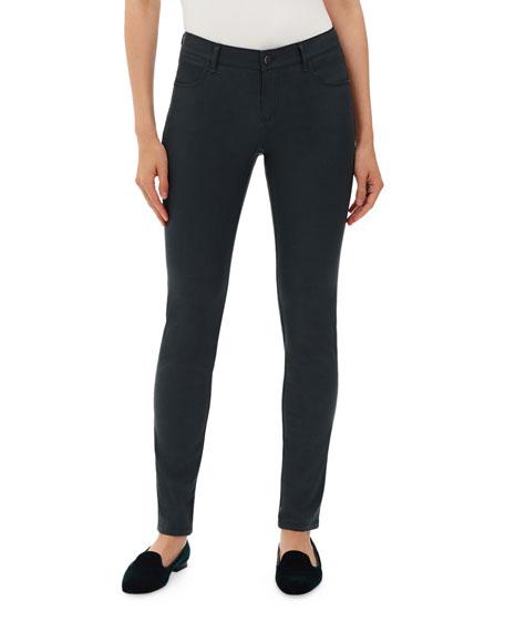 Mercer Waxed Denim Skinny Jeans
