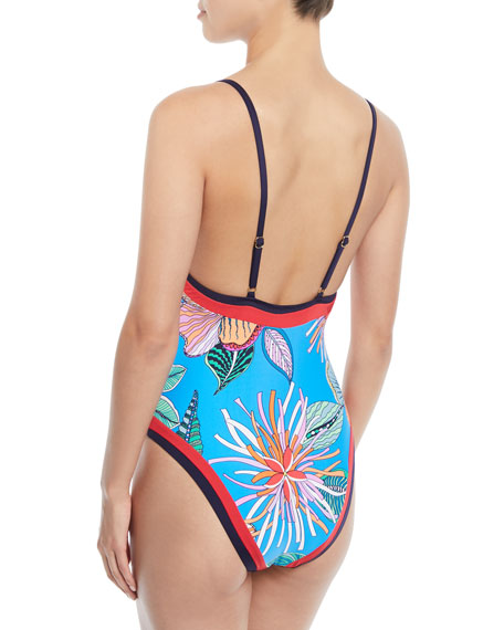 Tahiti Floral One-Piece Swimsuit