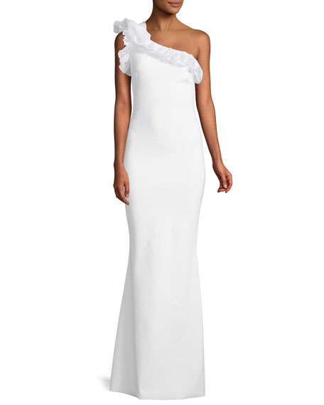 Chiara Boni La Petite Robe Elisir One-Shoulder Gown