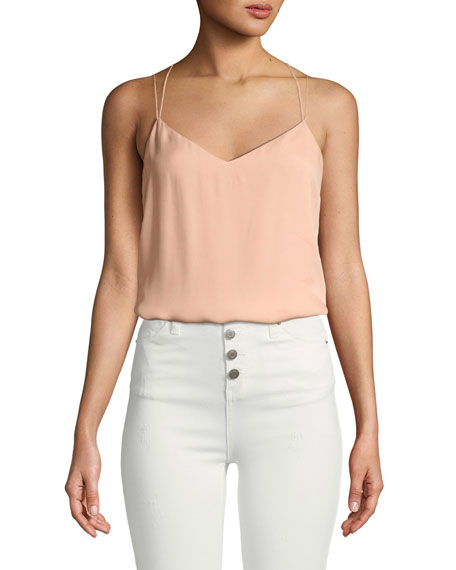 Yacht Strappy Silk Cami Top