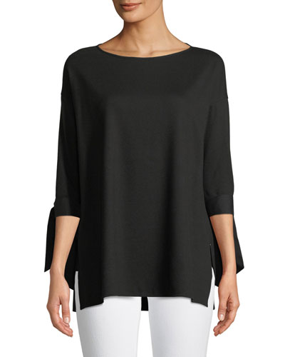 Catriona Lightweight Punto-Knit Top, Plus Size