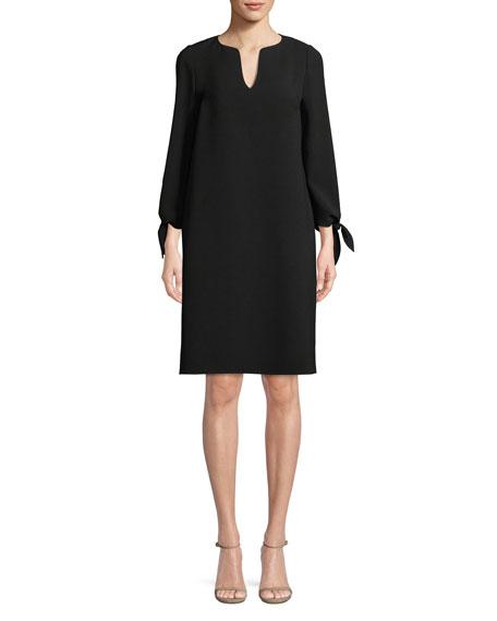 Khloe Finesse Crepe Shift Dress, Plus Size