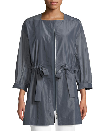 Stephania Empirical Tech Cloth Jacket, Plus Size