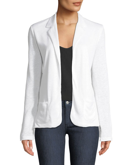 Majestic Paris for Neiman Marcus Lightweight Linen Blazer