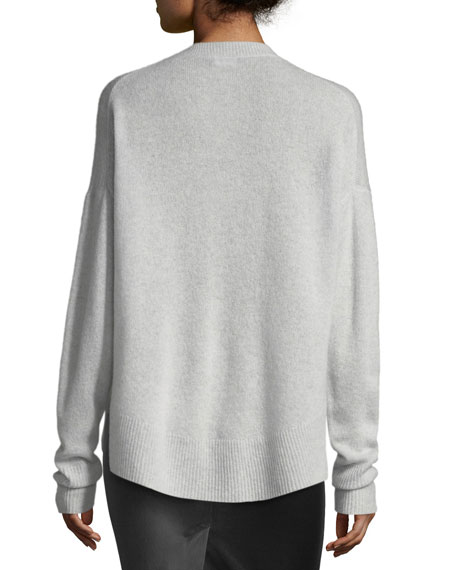 Karena L. Long-Sleeve Cashmere Sweater