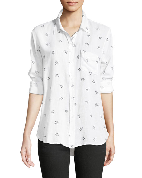 Charli Palm Tree Printed Shirt