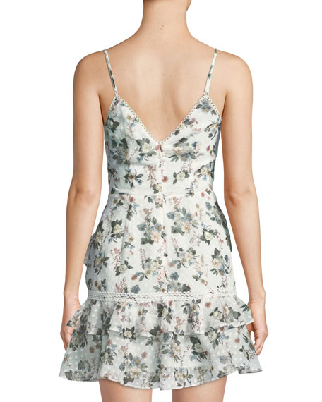 Reminisce Floral Sleeveless Mini Dress
