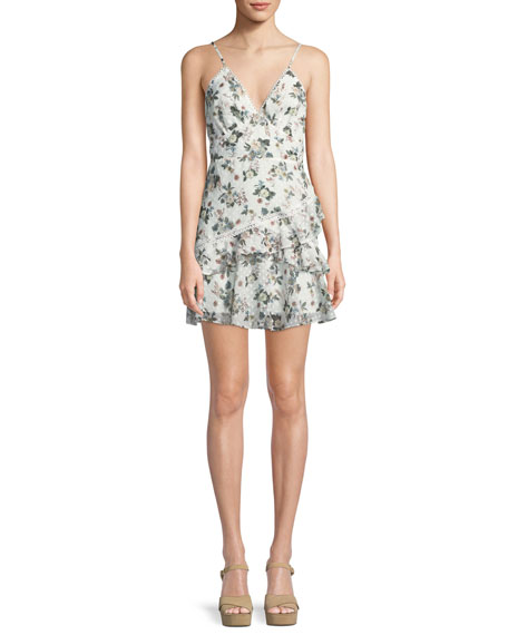 La Maison Talulah Reminisce Floral Sleeveless Mini Dress