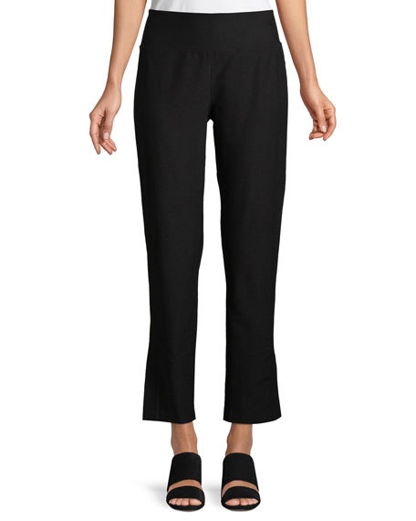 Eileen Fisher Washable Stretch Crepe Pants