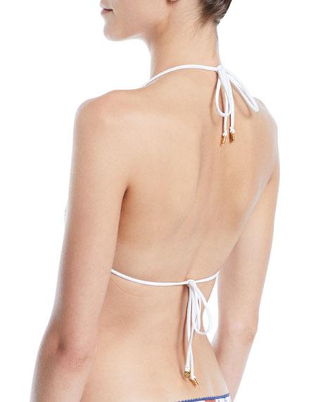 Meadow Folly Triangle Bikini Top