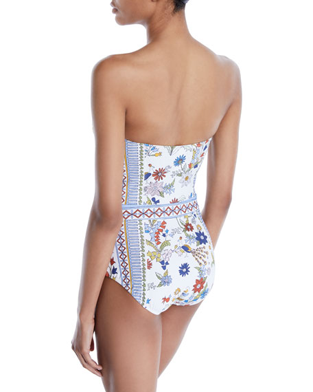 Meadow Folly Printed One-Piece Swimsuit