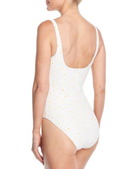Daisy One-Piece Tank Swimsuit
