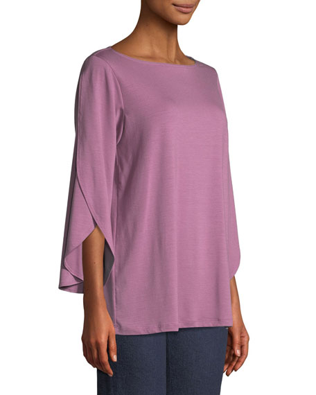Lightweight Viscose Jersey Top, Plus Size
