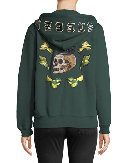 DISNEY X COACH Sneezy Embroidered Graphic Hoodie