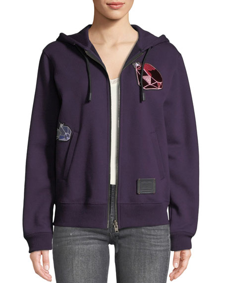 Coach DISNEY X COACH Dopey Embroidered Graphic Hoodie