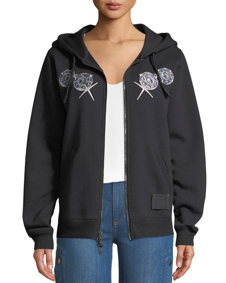 DISNEY X COACH Bashful Embroidered Graphic Hoodie
