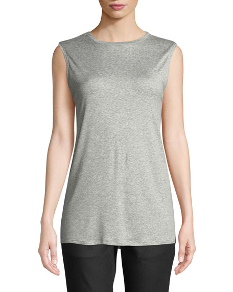 MicroTencel Sleeveless Tank Top, Plus Size