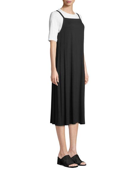 Lightweight Viscose Jersey Slip Dress, Plus Size