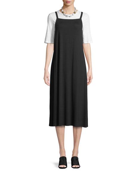 Lightweight Viscose Jersey Slip Dress
