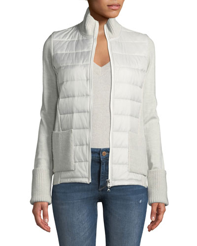 Roxa Hybrid Wool & Quilted Jacket