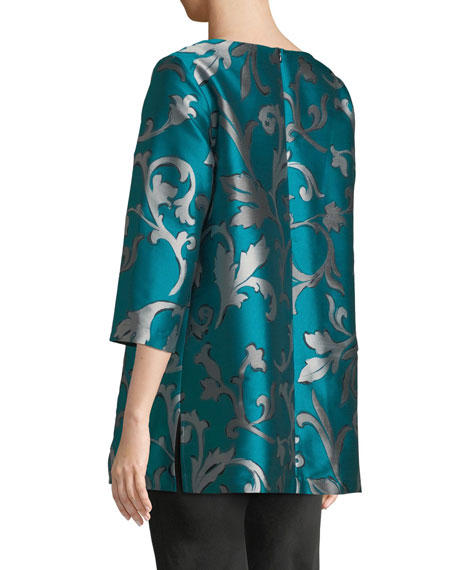 Dare to Flair Jacquard Tunic