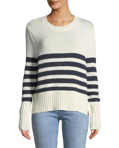 The Teva Striped Sweater Top