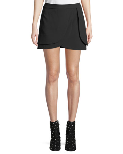 Nicolina Layered Tulip Mini Skirt