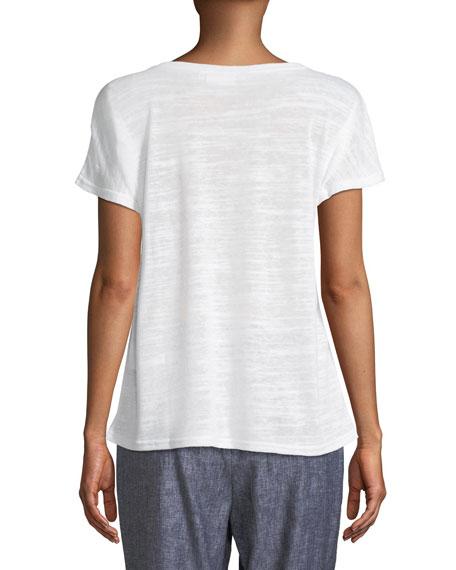 Daiva Short-Sleeve Jersey Top