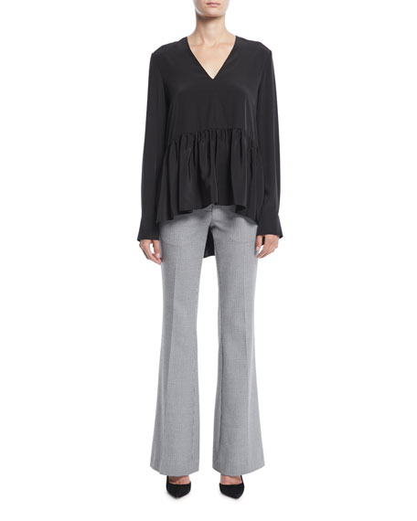 Hudson Flared-Leg Boot-Cut Pants