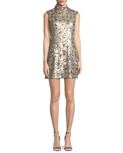 Esther Sequin Cocktail Mini Dress