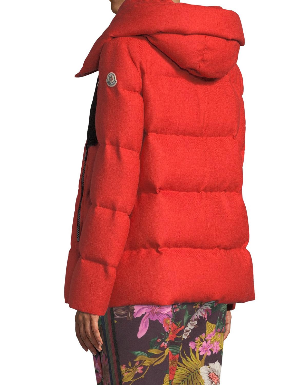 c07fb964f69e ... sweden moncler serin virgin wool puffer jacket w hood neiman marcus  b004b 7f473
