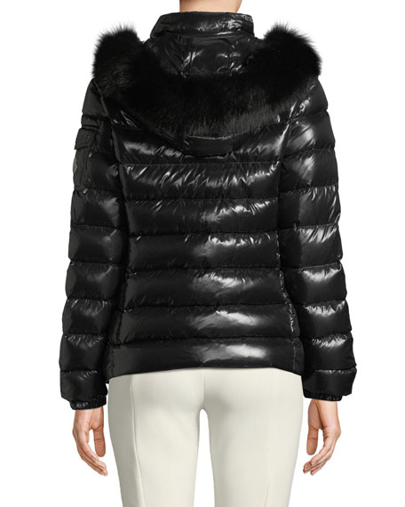Badyfur Puffer Jacket w/ Removable Fur Hood