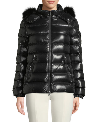 Badyfur Puffer Jacket w/ Removable Fur Hood