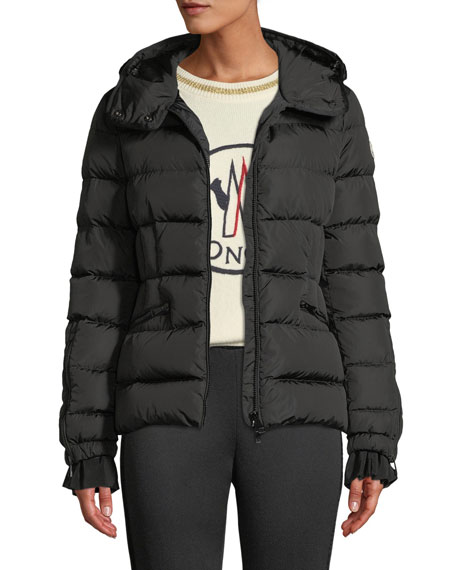 Moncler Betula Hooded Puffer Coat and Matching Items