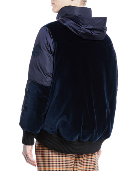 Elanion Puffer Jacket w/ Velvet Back