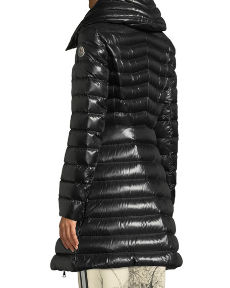 Faucon Fitted Puffer Coat