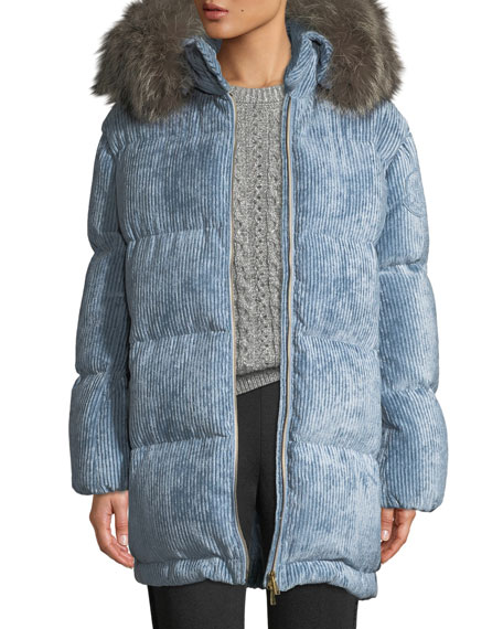 Moncler Pullover Cable-Knit Sweater and Matching Items &