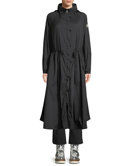 Mouette Long Raincoat w/ Removable Hood