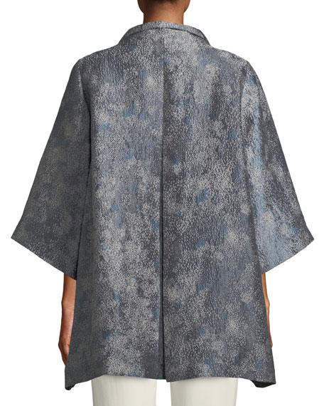 Cosmos Jacquard 3/4-Sleeve Jacket