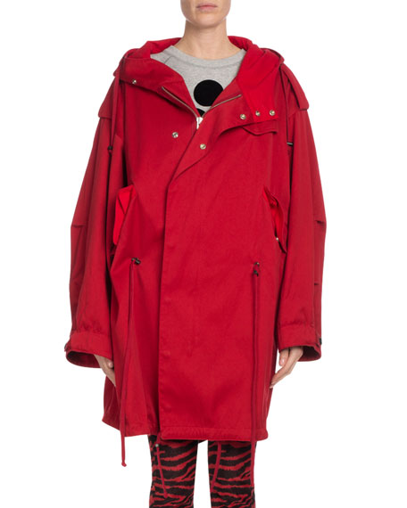Duffy Hooded Oversized Coat