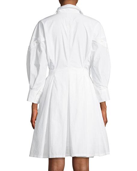 Darcila Cotton Button-Up Shirtdress