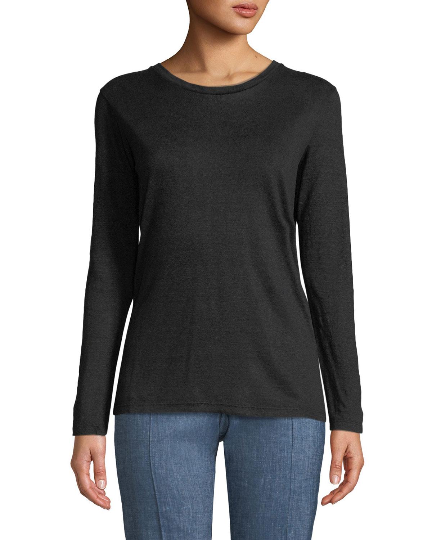 74b71c7255e0 Etoile Isabel Marant Kaaron Long-Sleeve Tee Shirt