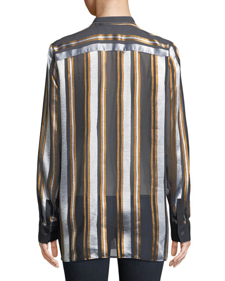 Brayden Ethereal Stripe Blouse