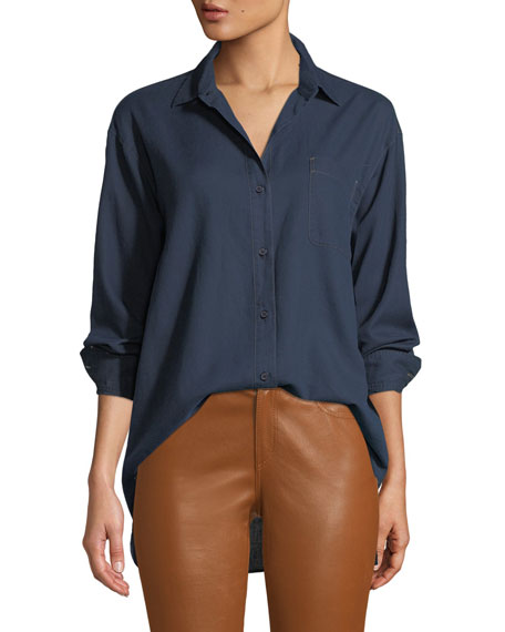 Lafayette 148 New York Everson Nocturnal Cotton Pocket