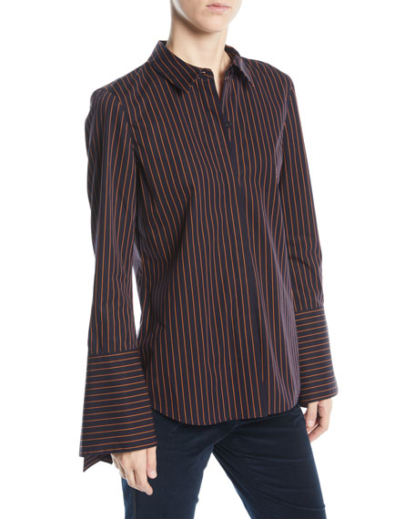 Lafayette 148 New York Cynthia Blouse in Spirited