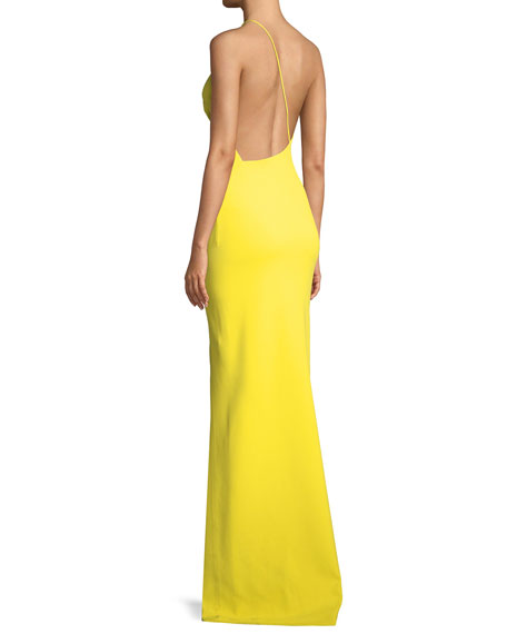 Petch One-Shoulder Split Maxi Dress