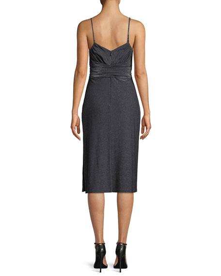 Metallic Jersey Cami Dress
