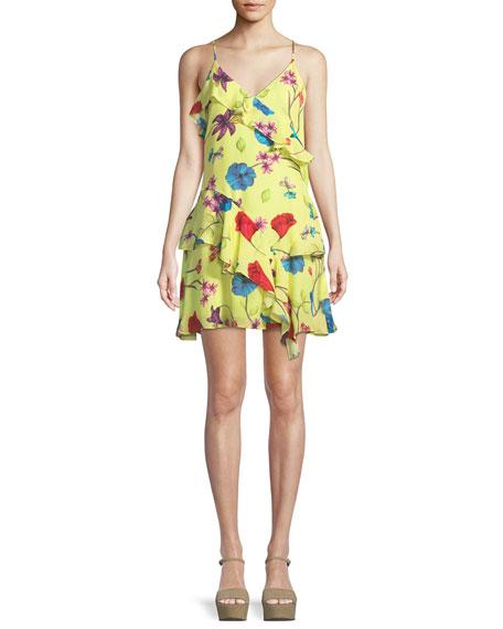 Holly Floral Ruffle Mini Dress