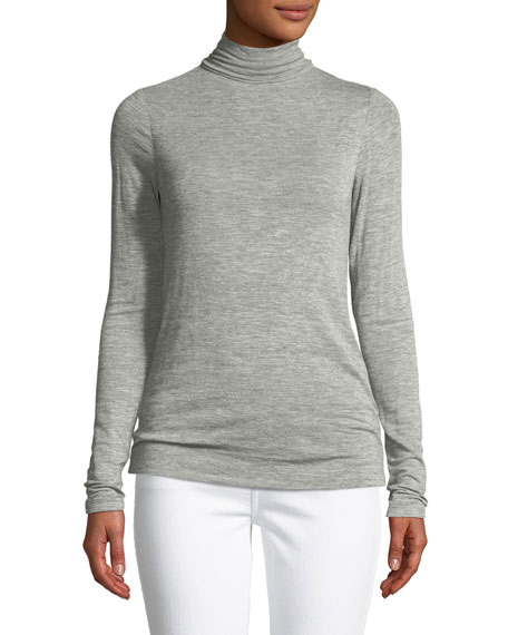 Long-Sleeve Turtleneck Sweater